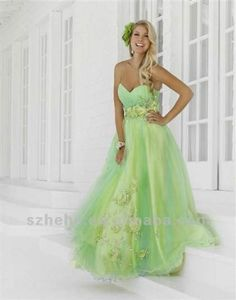 Awesome light green prom dresses 2017-2018