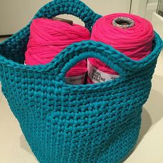 "@shareyourknits's photo: ""@Regrann from @fatalistic416 - Learning to crochet too :-) #shareyourknits #woolandthegang #bradybasket #jerseybegood #cochet #gethooked #FinishedWoop"""