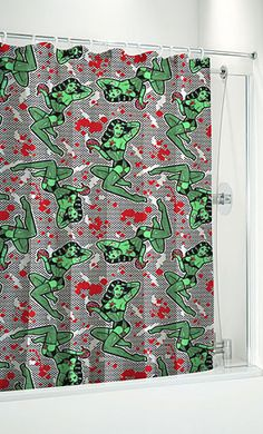 Fishnet Zombie Shower Curtains If I Had My Own Bathroom These Would Be