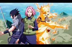 Naruto 632 Team 7 Is Ready by IITheYahikoDarkII.deviantart.com on @DeviantArt