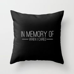 This pillow: | 27 Things For People Who DGAF