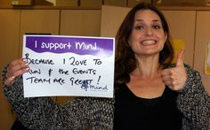 The Events team are great! #IsupportMind #mentalhealth