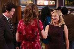 """""""Ron and Diane"""" / Parks and Recreation / Parks And Recs, Leslie Knope, Amy Poehler, Ron Swanson, Parks And Recreation, Favorite Tv Shows, Picture Photo, Photo Galleries, Pictures"""