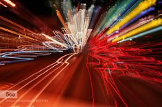 Long exposure. - Pinned by Mak Khalaf long exposure with zoom... Abstract abstractartcolorcolorfullight by DanielEduardo