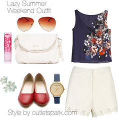 """""""Lazy Summer Weekend Outfit"""""""