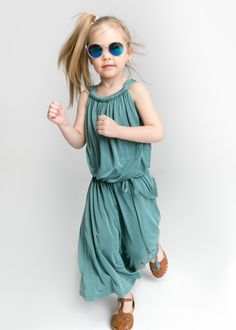 Tourquoise cupro Dress for girl  #maxidress #elegantdress #fashionkids #sukienkadladziewczynki