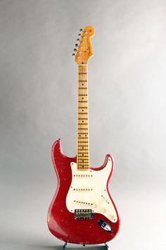 FENDER CUSTOM SHOP[フェンダーカスタムショップ] TBC 1957 Stratocaster Heavy Relic Dakota Red 2010|詳細写真