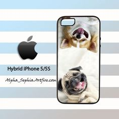 Dogs Spa iPhone 5 5s Rubber Case Cover