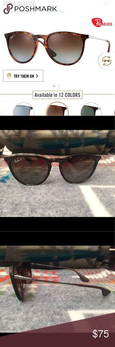 71a209edf0f34 Shop Women s Ray-Ban Brown size OS Sunglasses at a discounted price at  Poshmark. Only alittle over a year old