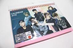 BTOB B2B KPOP 2016 2017 Desk Calendar (with Sticker ) New Year Korean Pop Star
