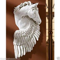 PEGASUS-HORSE-GREEK-MYTHOLOGY-Statue-Sculpture-Home-or-Gallery-Decor