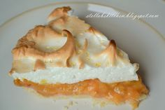 Rhubarb Cream Dessert {or Pie} with Meringue Topping
