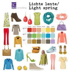 """""""Lichte lente/ Light spring color type."""" By Margriet Roorda-Faber."""
