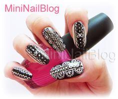 Mini Nail Blog #nail #nails #nailsart