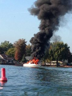 ST. CLAIR COUNTY, MI - Three people were injured in an explosion on a boat on Bouvier Bay near Swan Creek late Saturday afternoon.
