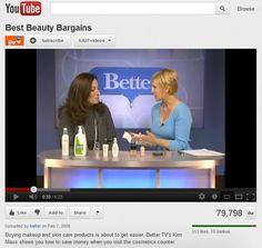 Save money on makeup and skincare with Cosmetics Cop, Paula Begoun.