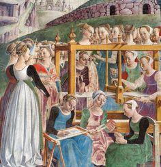 Il Palazzo Schifanoia a Ferrara Renaissance Portraits, Renaissance Paintings, Renaissance Clothing, Italian Renaissance, 15th Century Fashion, Roman Gods, Book Of Hours, Medieval Art, Middle Ages