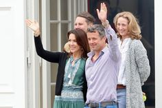 NewMyRoyals-Danish Royal Family Annual Summer Photoshoot, Grasten Castle, July 15, 2016-Crown Princess Mary, Crown Prince Frederik, Count Jefferson and Princess Alexandra