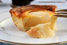 tarte normande aux poires