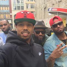 Gorgeous Black Men, Handsome Black Men, Beautiful Men, Michael Bakari Jordan, Quincy Brown, Cute Mexican Boys, Celebrity Selfies, Man Crush Everyday, Bae
