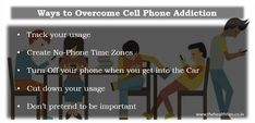 Ways to overcome Cell Phone Addiction | TheHealthTips Addiction is a disease. So, if you are suffering from Cell Phone disease and searching for the effective Ways to Overcome Cell Phone Addiction, then you may explore TheHealthTips, one of the amazing blog to have natural home remedies for all.