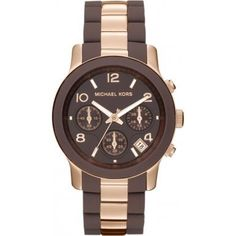 Chocolate Rose Gold Watch