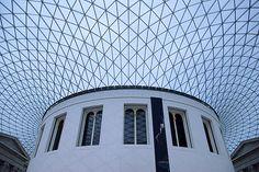 Great Court - British Museum    Sir Norman Foster #edificios #buildings #vidrio #glass #vidro #normanfoster