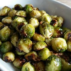 Roasted Brussels Sprouts Recipe Side Dishes with fresh brussels sprouts, olive oil, sea salt, garlic