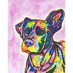 Keen Dog Wall Sticker Decal - Animal Pop Art by Dean Russo