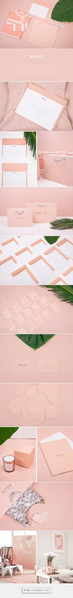 MELIE Fashion Branding by Solange Marques | Fivestar Branding Agency – Design and Branding Agency & Curated Inspiration Gallery #fashionbranding #branding #brand #design #designinspiration