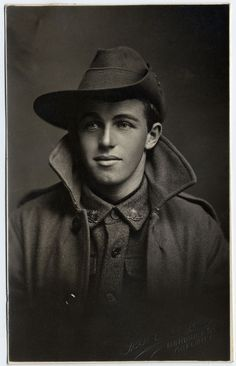Photographic Portraits of South Australian Soldiers, Sailors and Nurses who took part in World War One Number 2775 INGLIS, Laurice John Battalion Place of birth: Port Pirie Residence: Stone Hut Killed in Action SRSA ref: Antique Photos, Vintage Pictures, Vintage Photographs, Old Pictures, Vintage Images, Old Photos, Vintage Men, Vintage Gentleman, Old Portraits