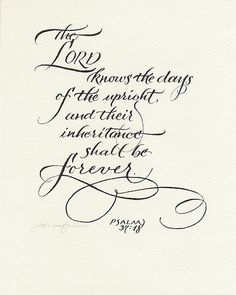 I love calligraphy and beautiful lettering.