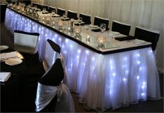 fairy lights for bridal table | Love this photo?