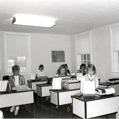 In honor of the girls taking the PSAT this week, here are past SMS students hard at work!  #TBT #SMSinthe70s #TheCottage #smartscotties