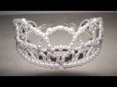 ▶ How to Make Beaded Tiaras & Crowns - Craft Tips #21 - YouTube