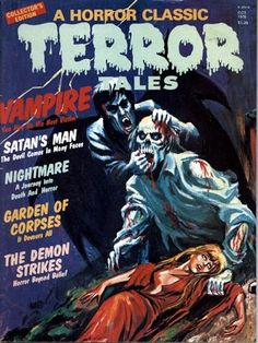 Psycho Loosers Cool Ilustration : Terror Tales (Oct. / 1976)