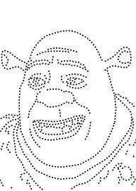 Shrek String Art Templates, String Art Patterns, Preschool Fine Motor Skills, Preschool Art, Paper Embroidery, Embroidery Patterns, Sequin Crafts, Glitter Art, Yarn Thread