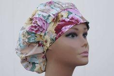 Handmade Surgical Scrub Hat - Scrub Cap - bouffant scrub hat - Surgical Hat - Surgical cap