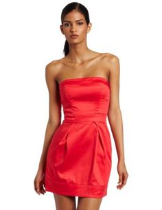 French Connection Womens Caramel Cotton Strapless Dress....love the color!!! LOVE it UGG fashion This is my dream , Click the link for best price UGG .