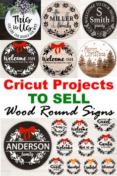 Wooden Door Signs, Diy Wood Signs, Cricut Explore Projects, Cricut Project Ideas, Cricut Ideas, Vinyl Crafts, Vinyl Projects, Cricut Craft Room, Crafts To Make And Sell