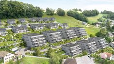 Energiequartier Hohlen - Huttwil 2½- bis 4½-Zimmer Eigentumswohnungen (Häuser 4 bis 7) Die Häuser 4 bis 7 sind Bestandteil des neu entstehenden, mehrzeiligen Wohnquartiers «Hohlen Südhang». In wenigen Gehminuten befinden Sie sich mitten im Naherholungsgebiet. Zwei 2½-, 16 3½- und 20 4½-Zimmer Eigentumswohnungen sind in den vier Häusern geplant. Euer Neubauprojekte.ch - TEAM . . #neubau #neubauprojekt #neubauprojekte #erstbezug #wohneigentum #eigentumswohnung Solar, Bern, Dolores Park, Travel, Large Windows, Home Ownership, Condominium, New Construction, Viajes