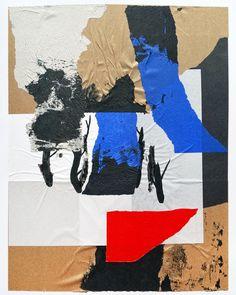 """nicolasbrunet: """"Avant le désert (3) • Août 2016 #art #collage #collageart #artist #abstract #abstractart #abstractexpressionism #nicolasbrunetartist """""""