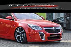 CUP Spoilerlippe für Opel Insignia OPC Bj. 09-13 Front Spoiler Ansatz Schwert IN | eBay