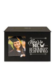 New View  Graduation Card Box Holder