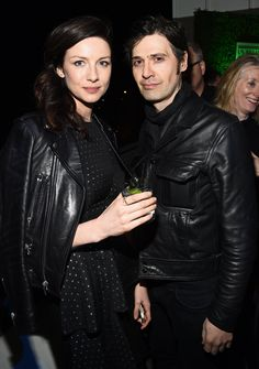 Cait Balfe with fiancé Tony McGill