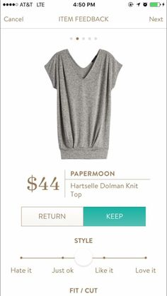 Papermoon Hartselle Dolman Knit Top - this looks so comfy!