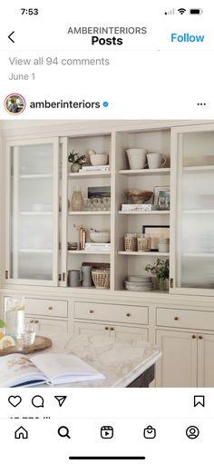 Kitchen Shelves, Kitchen Cabinets, Em Henderson, California, Kitchen Essentials, China Cabinet, Bathroom Medicine Cabinet, Kitchen Remodel, Bookcase