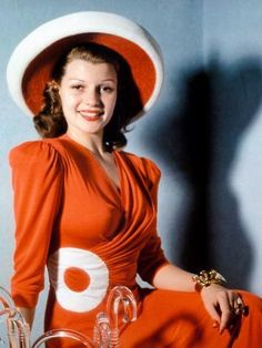 Vintage Fashion Rita Hayworth Canvas Art - x - Rita Hayworth, Old Hollywood Glamour, Vintage Hollywood, Classic Hollywood, Hollywood Icons, Hollywood Fashion, Hollywood Magazine, Pure Hollywood, Hollywood Style