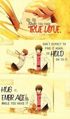 Random Anime Pics 2 - True Love/Hold ,yandere manga - My Manga Sad Anime Quotes, Manga Quotes, Sad Quotes, Badass Quotes, Random Quotes, Anime Amor, Anime Manga, Anime Boys, Yandere Manga