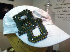 Handmade #Baylor cadet hat (found on Etsy)